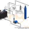 Dump-truck-hydraulic-system-for-medium-heavy