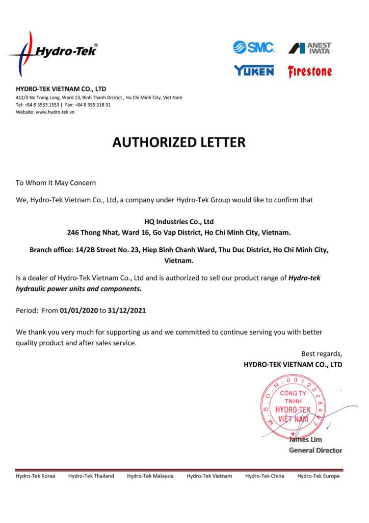 HYDRO-TEK Authorized Distributor
